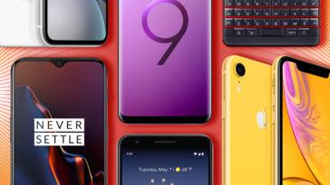بهترین تلفن های هوشمند 2019