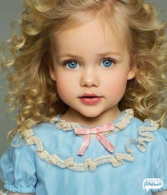 چشم رنگی از ویژگی زنان جذاب