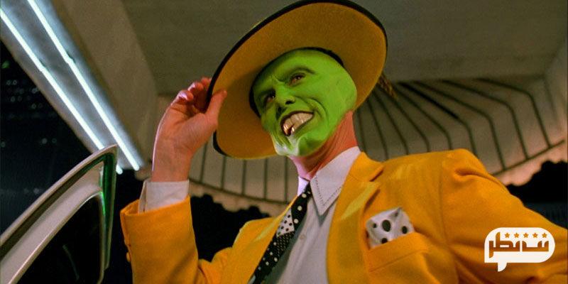 ماسک نقطه عطف زندگینامه هنری جیم کری