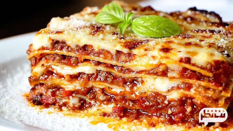 دستور پخت لازانیای ایتالیایی