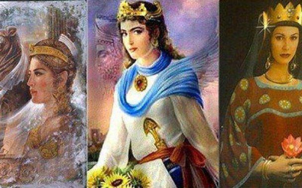 زنان بزرگ شاهنامه فردوسی