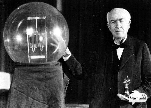 لامپ بهبود یافته توماس ادیسون