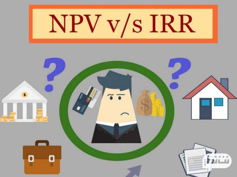 مقایسه دو معیار NPV و IRR