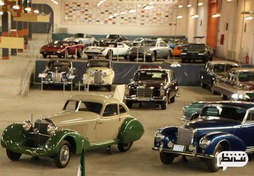 موزه خودرو تهران مکان تفریحی و سرپوشیده