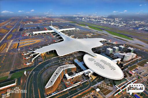 فرودگاه بینالمللی شنژن بن در چین با معماری بی نظیر و تماشایی