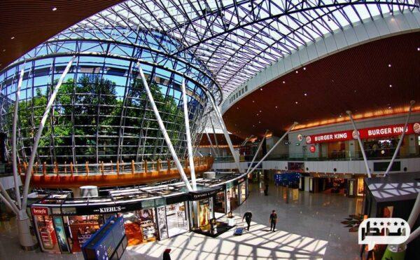 فرودگاه بینالمللی شیک و مدرن کوالالامپور در مالزی