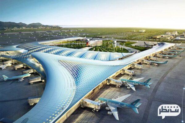 فرودگاه بین المللی اینچئون از بزرگ ترین فرودگاه های دنیا در کره جنوبی