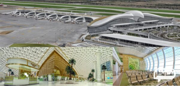فرودگاه بین المللی عشق آباد از فرودگاه های جدید و برتر در دنیا
