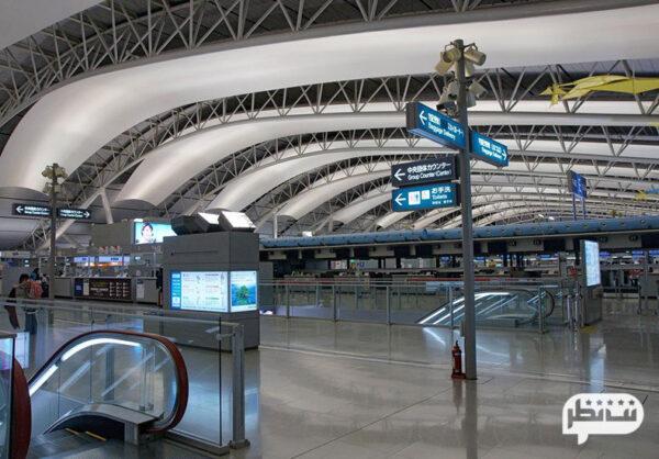 فرودگاه بین المللی کانسای در ژاپن با امکانات بی نظیر