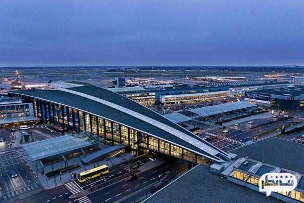 زیباترین و امن ترین فرودگاه جهان در کپنهاگ دانمارک