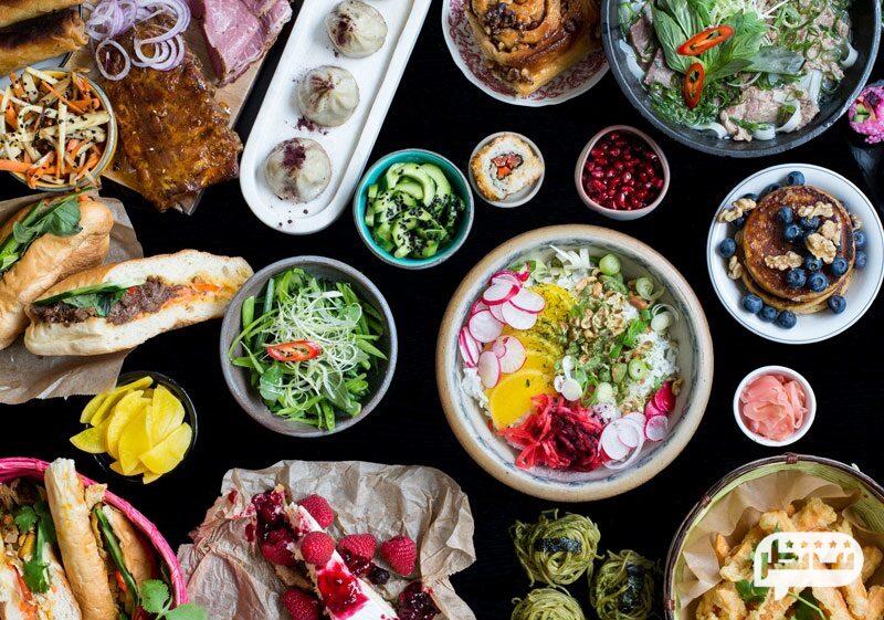 بهترین رستوران های وگان تهران