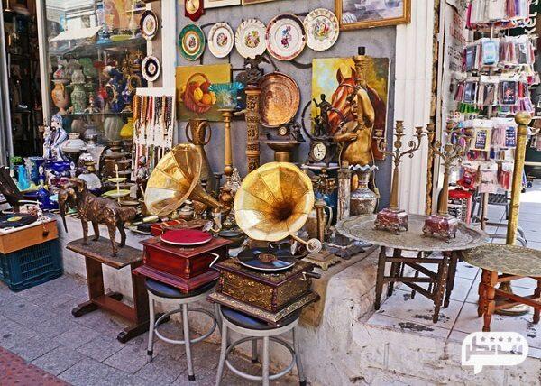 عتیقه و وسایل آنتیک از هدایای جالب کشور ترکیه