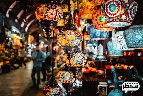 فانوس های رنگارنگ و جذاب از سوغاتی های خاص ترکیه