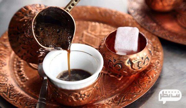 قهوه ترک از معروف ترین و محبوب ترین سوغاتی های ترکیه