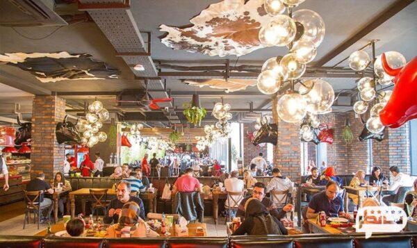 ممد استیک از معتبرترین رستوران های ایرانی بام لند در تهران