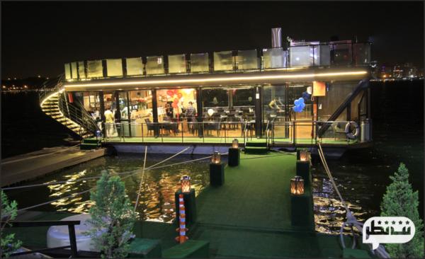 رستوران کشتی رویال لانژ یکی از رستوران های لاکچری و زیبای بام لند