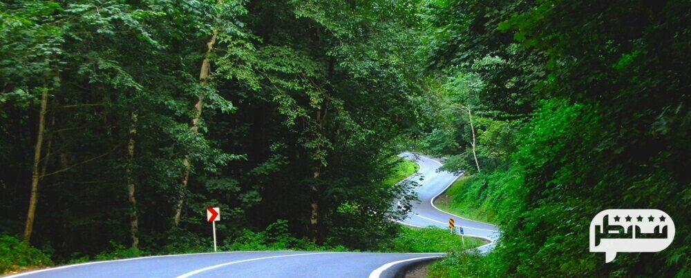 جاده چالوس از زیباترین جاده های ایران
