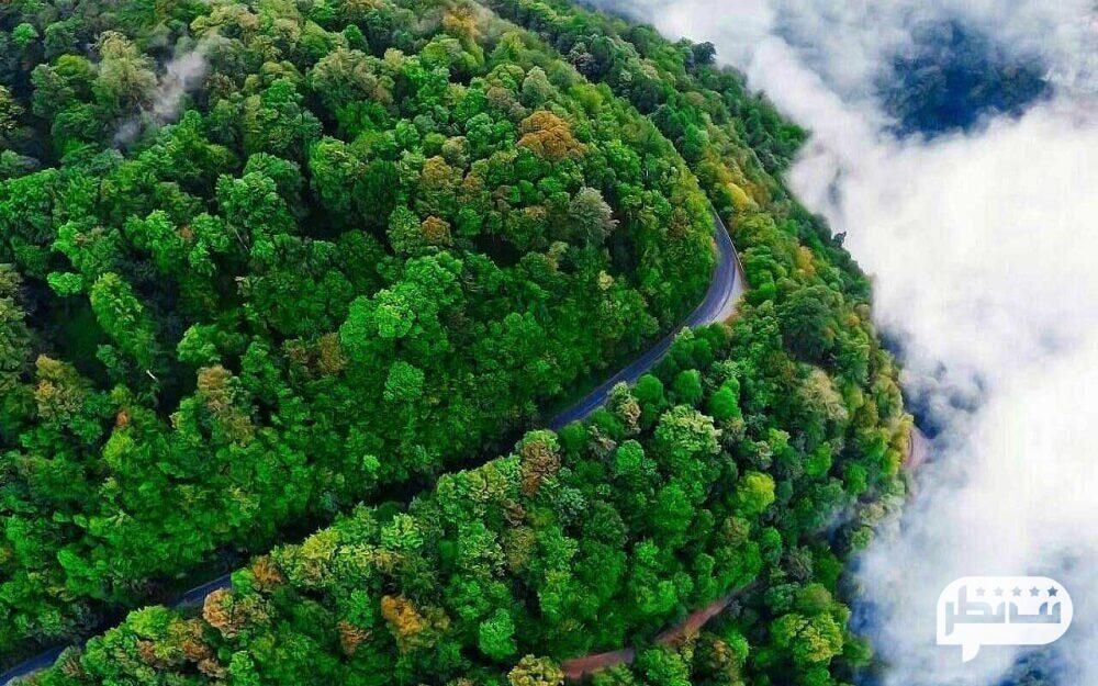 جاده اسالم به خلخال جزو زیباترین جاده های ایران