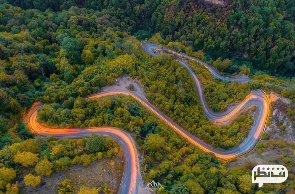 جاده گرگان به شاهرود از جمله زیباترین جاده های ایران