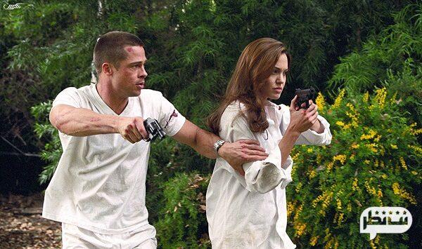 """( آقا و خانم اسمیت ) """"Mr. & Mrs. Smith """" از فیلم های پر مخاطب آنجلینا جولی"""