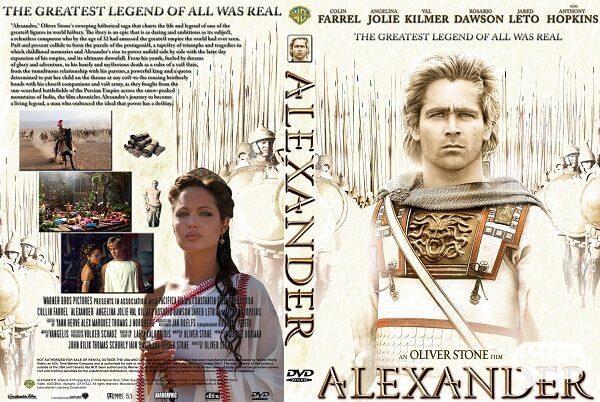 """( الکساندر ) """" Alexander"""" معروف ترین و بهترین فیلم آنجلینا جولی"""