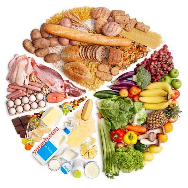 مواد غذایی برای افزایش رشد مو
