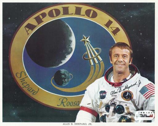 فضانورد آلن شپارد