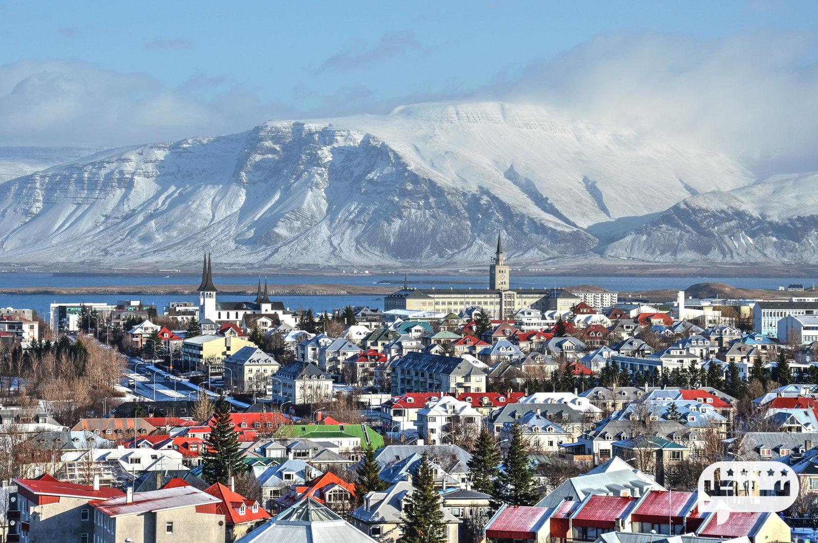 کشور یخی ایسلند