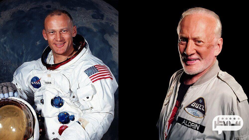 یکی دیگر از فضانوردان باز آلدرین