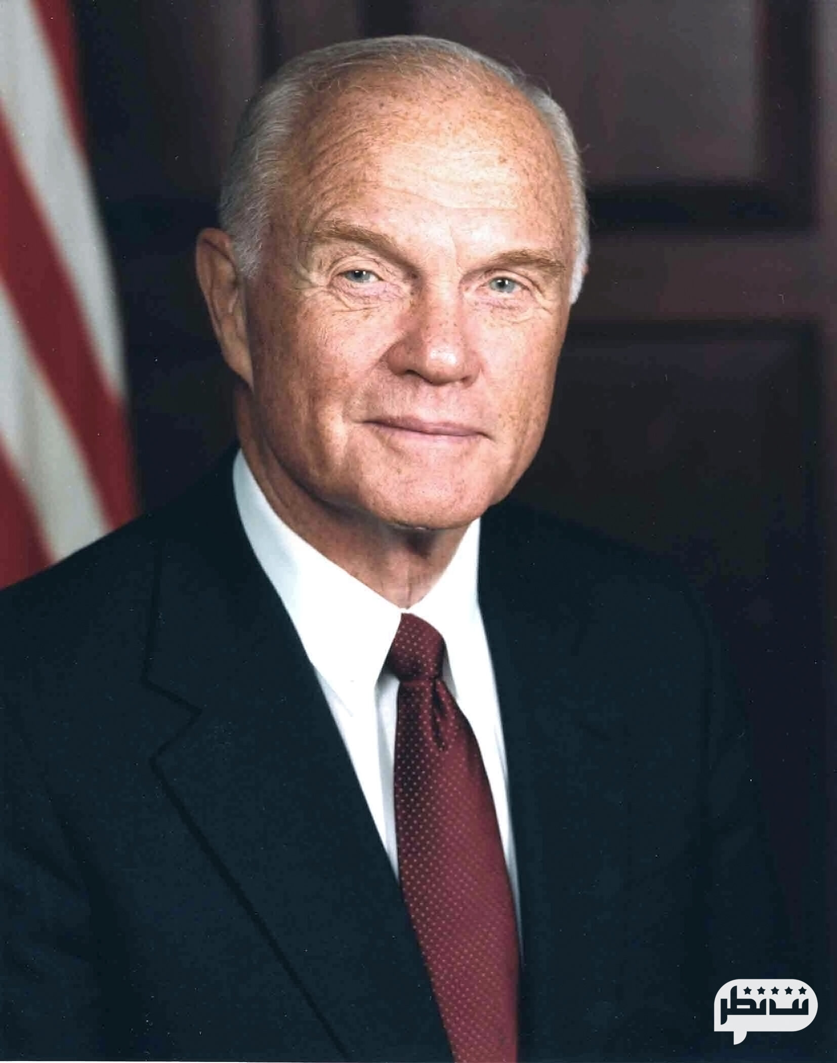 یکی دیگر از فضانوردان معروف جان گلن