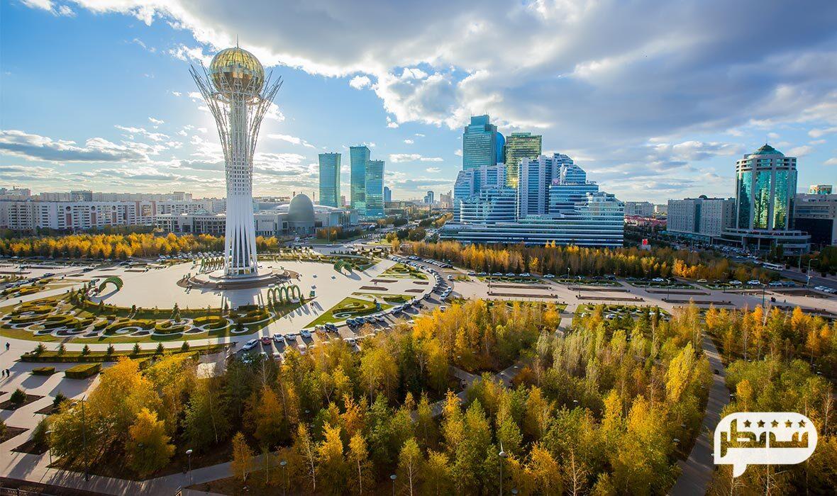 قزاقستان کشوری اروپایی