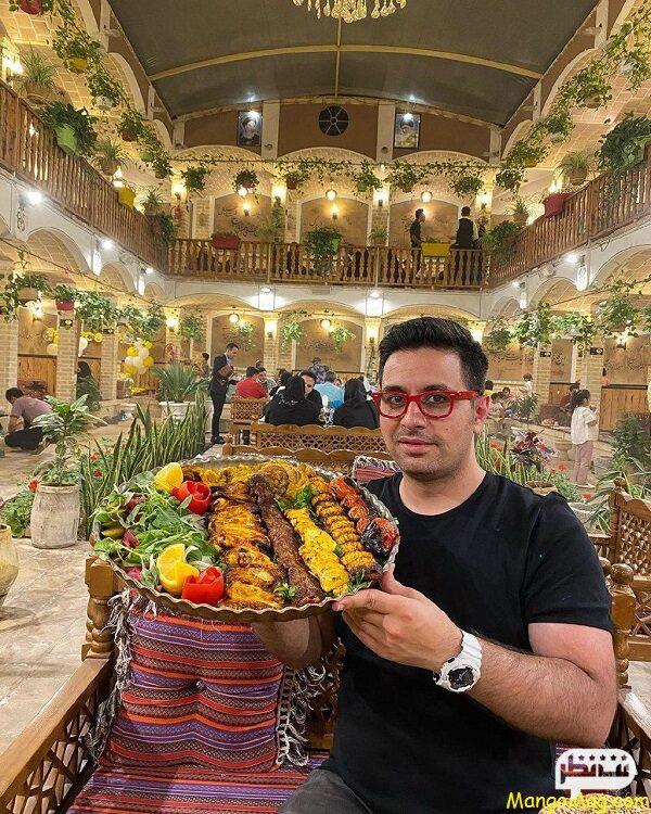 تیستر معروف ایرانی میلاد کلانتری