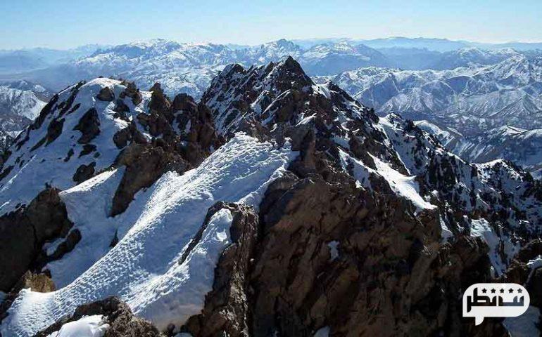 کوه دنا بلند ترین چین خردگی زاگرس