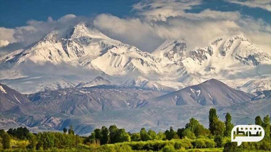 قله سبلان سومین قله مرتفع ایران