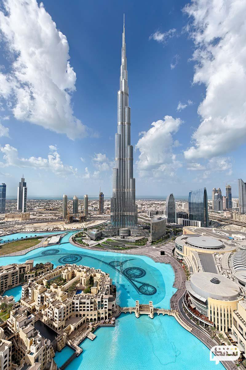 برج خلیفه، بلندترین برج جهان