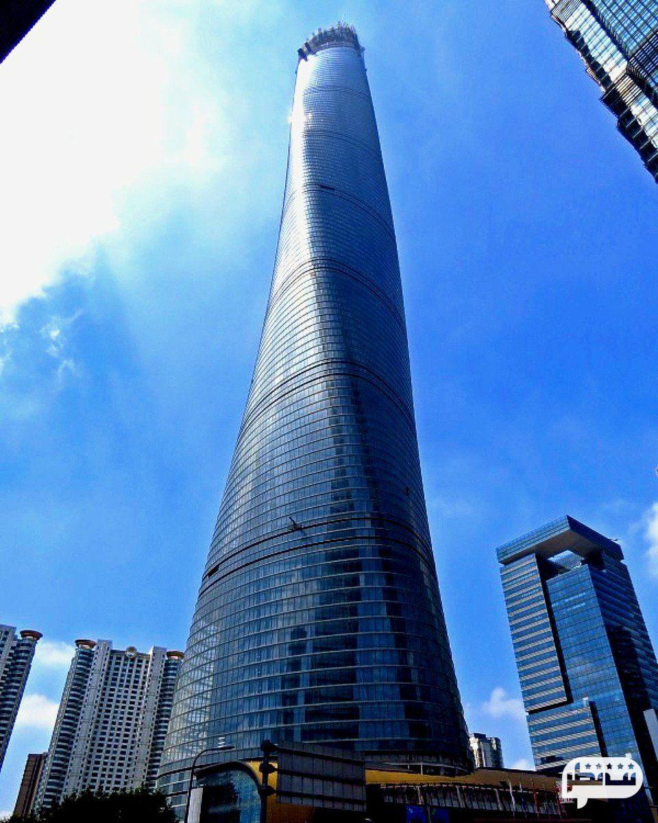 برج شانگهای، یکی از بلندترین برج های جهان