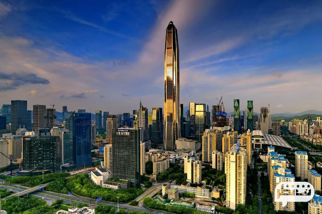 مرکز تجارت جهانی پینگ آن واقع در چین