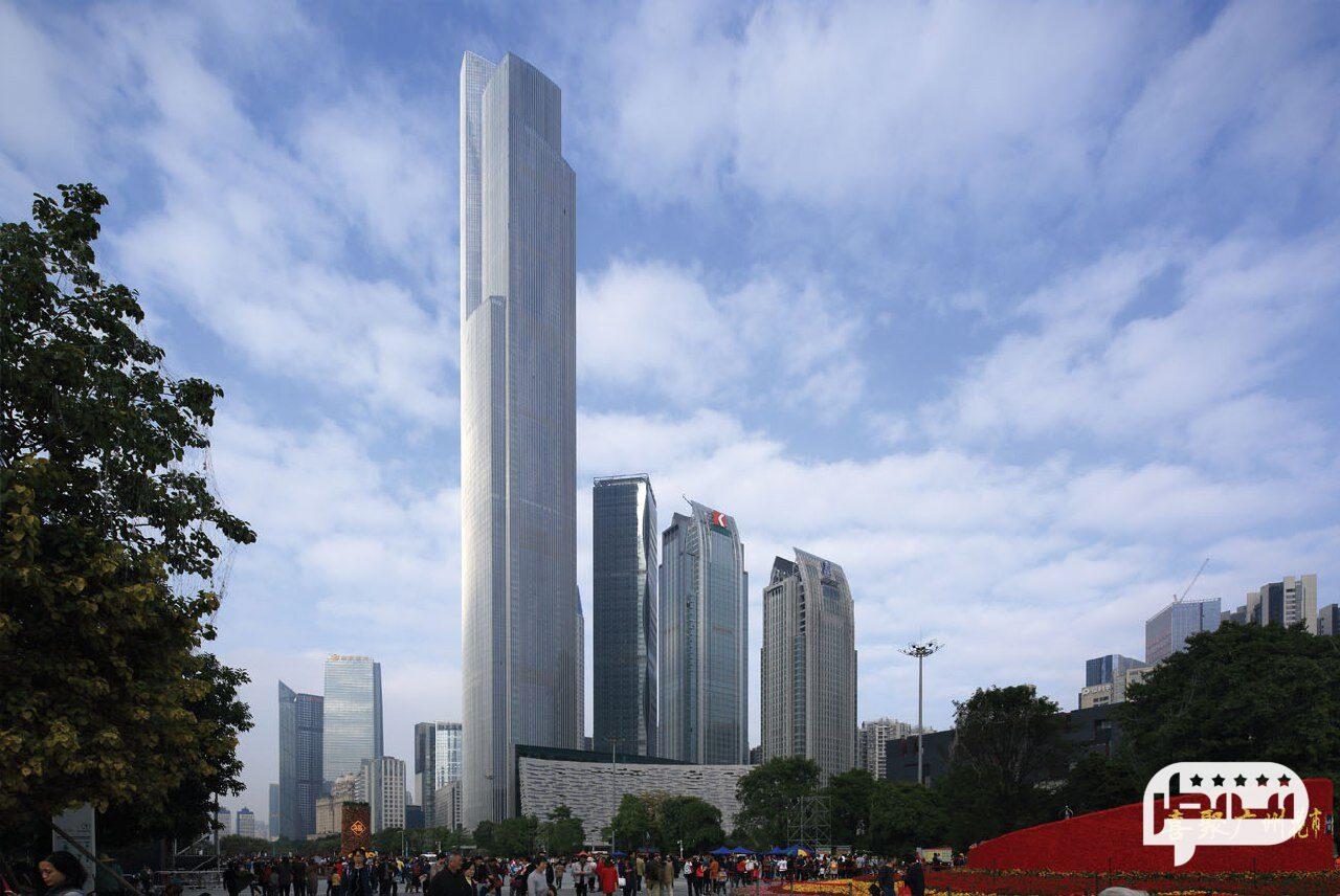 مرکز مالی CTF چین، یکی از بلند ترین اسمان خراش های جهان