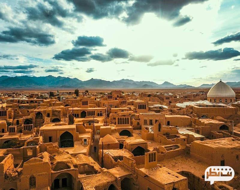 بافت تاریخی یزد از جاذبه های گردشگری اینن شهر