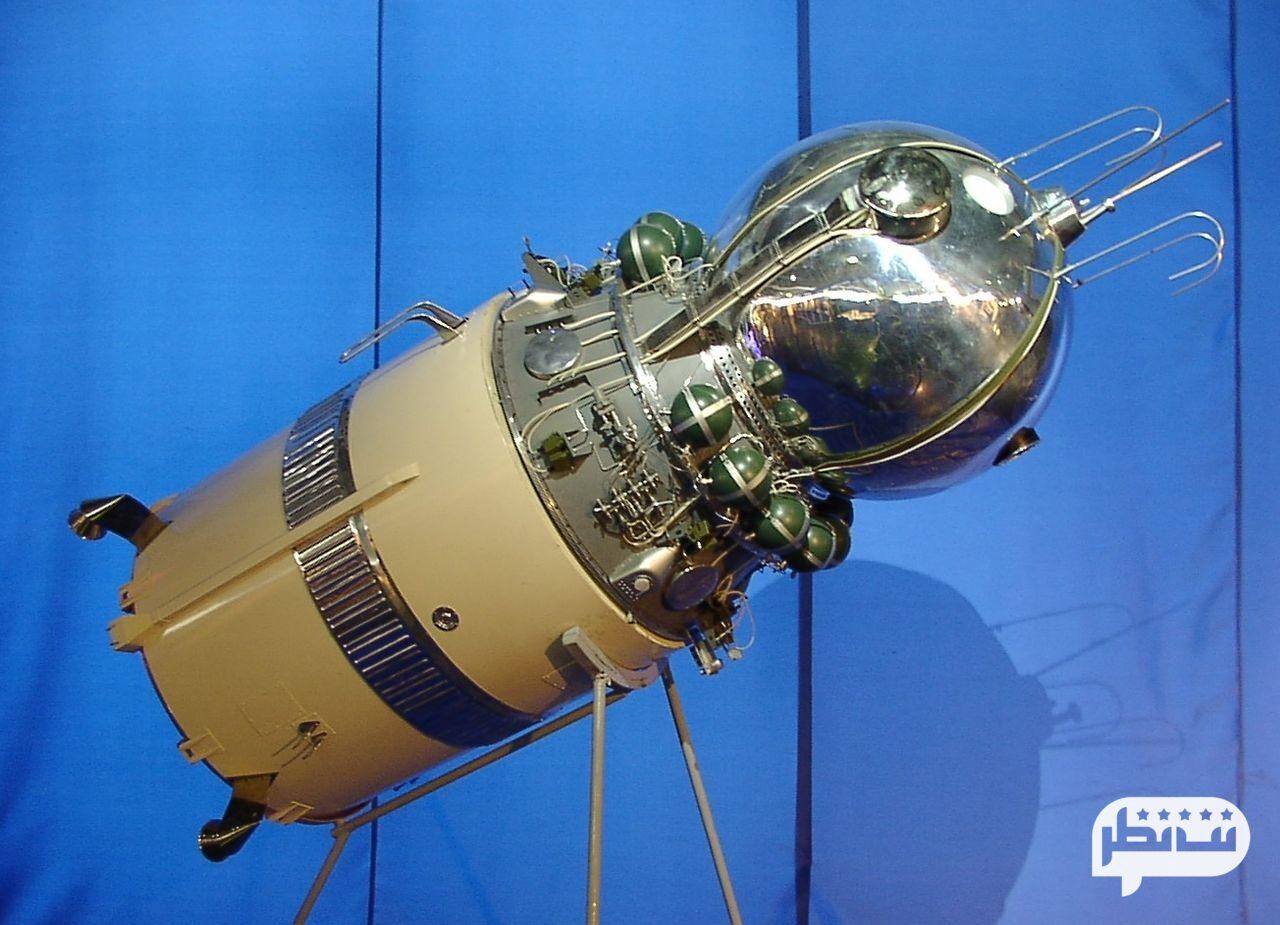 فضاپیمایی که نخستین انسان را به فضا برد