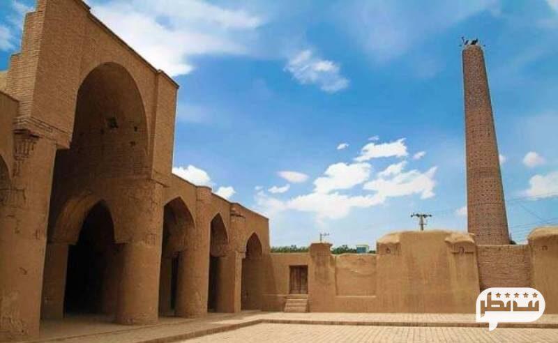مسجد جامع فهرج از جاذبه های گردشگری یزد