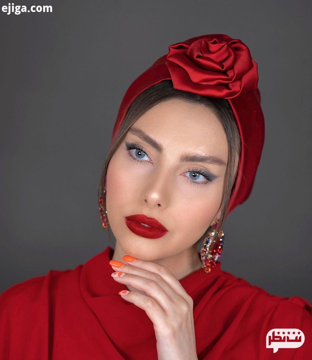 گیسو دیبا معروف ترین بیوتی بلاگرهای ایرانی