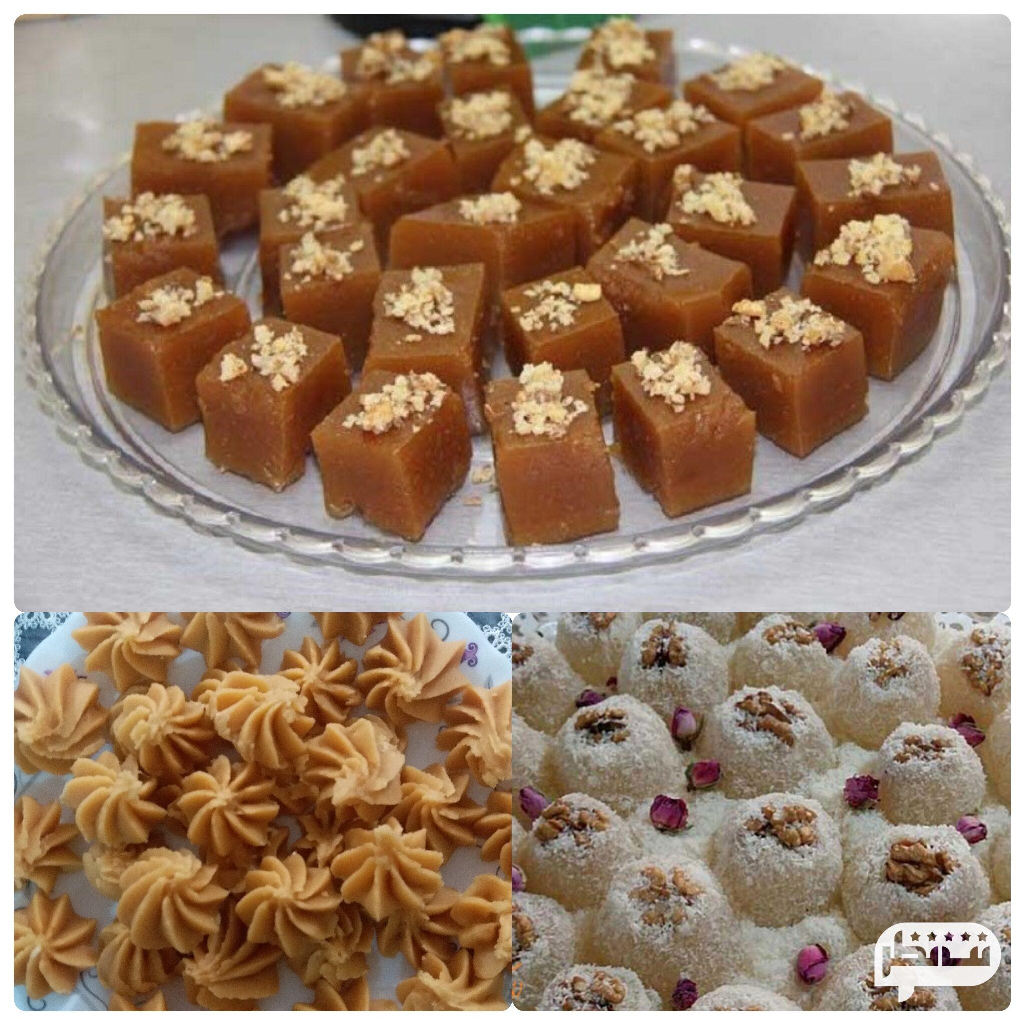 شیرینی های محلی